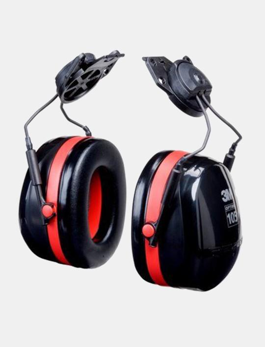 3M™ PELTOR™ Optime™ 105 Earmuffs H10P3E, Hard Hat Attached