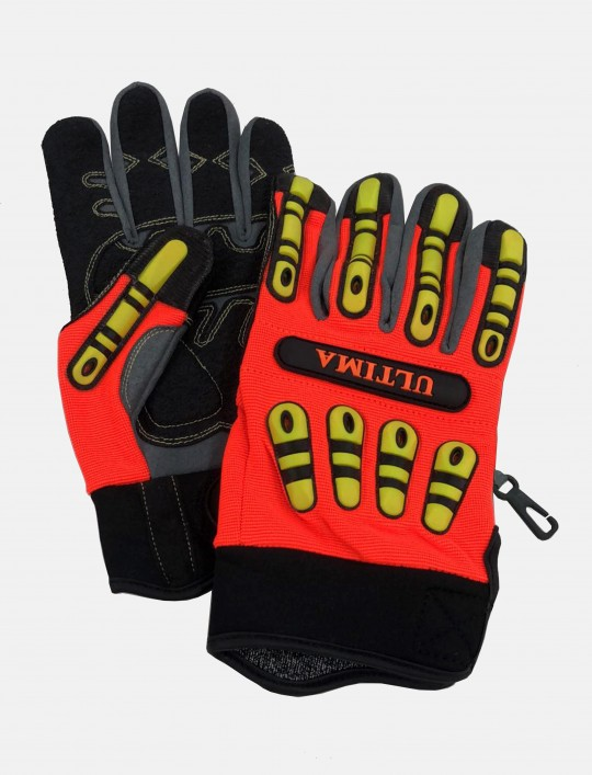 ULTIMA® Impact Mechanic and Cut Resistant Glove
