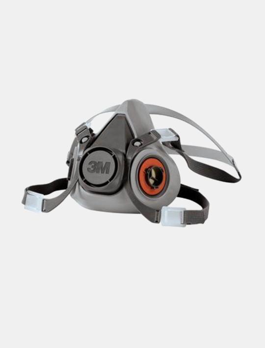 3M™ Half Face Respirator 6200, MEDIUM