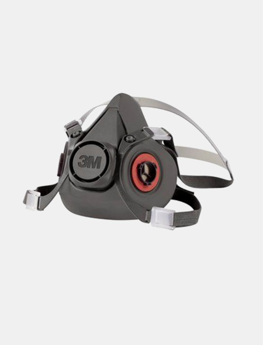 3M™ Half Face Respirator 6300, LARGE
