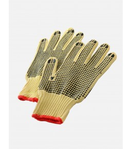 Para Aramid Cut Resistant Polka Dot Gloves
