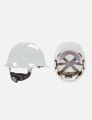 MSA V-Gard Safety Helmet