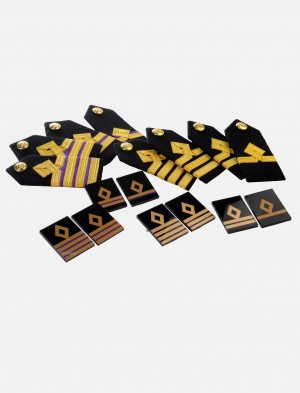 Shoulder Epaulettes / Chest Emblem