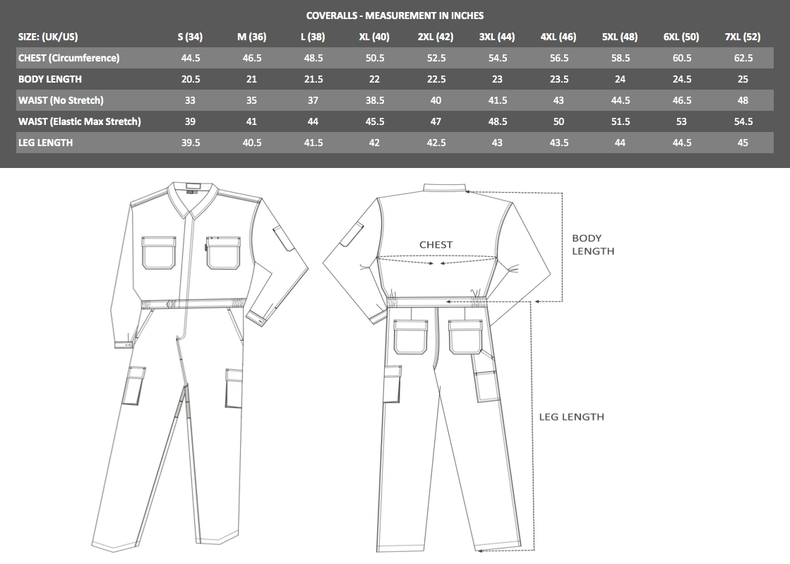 Coveralls_SizeChart